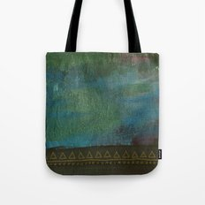 Deep blue green Tote Bag