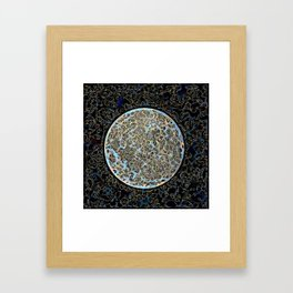 Moon Full Framed Art Print