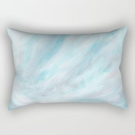 Trust - Dark and Moody Seascape Rectangular Pillow