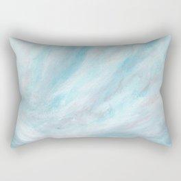 Trust - Dark and Moody Seascape Rectangular Pillow