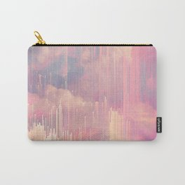 Candy Glitched Sky Carry-All Pouch