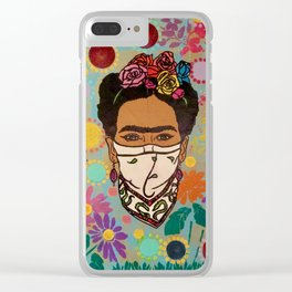 Viva La Frida! Clear iPhone Case