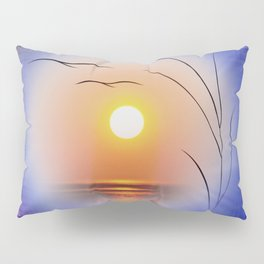 Abstract in perfection - Fertile Imagination Sunst Pillow Sham