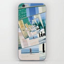 Watching The Ocean iPhone Skin