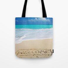 Welcome Home Beach Bum Tote Bag