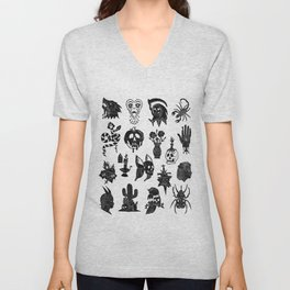 Flash Sheet Unisex V-Neck
