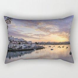Portugal, Ferragudo sunset Rectangular Pillow