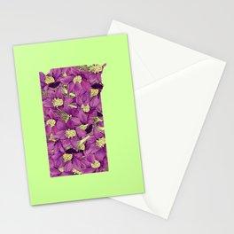 South Dakota in Flowers Stationery Cards