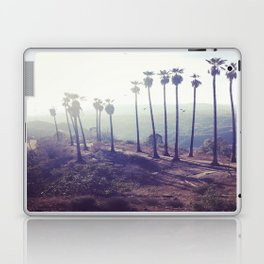 Hazy Palm Trees Laptop & iPad Skin