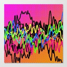 waves - ! Canvas Print