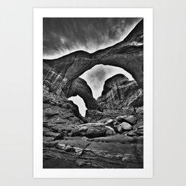 Double Arch - Arches National Park Art Print