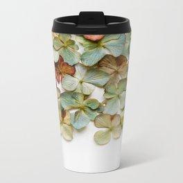 Hydrangea Petals no. 2 Metal Travel Mug