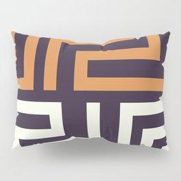 African Tribal Pattern No. 51 Pillow Sham