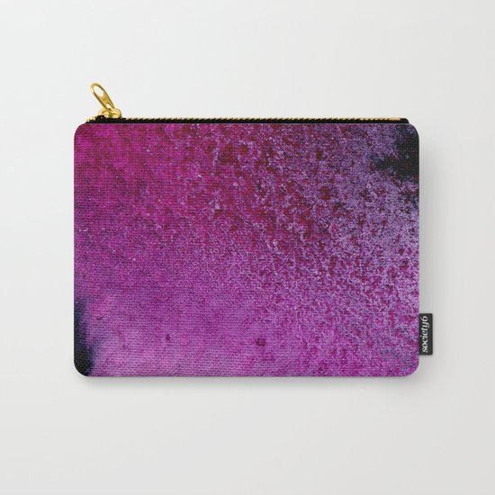 Purple Pink Carry-All Pouch