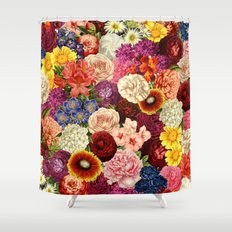 Spring Explosion Shower Curtain