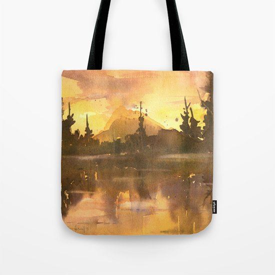 Sunset in the Tropics Tote Bag
