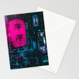 Japanese Cyberpunk Stationery Cards
