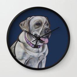 Gracie the Labrador Wall Clock