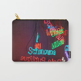 Neons in Paris Carry-All Pouch