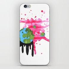 Broken Earth  iPhone & iPod Skin