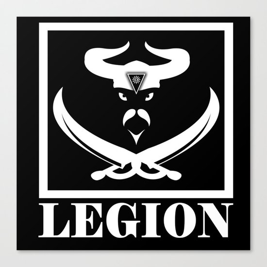 LEGION Canvas Print