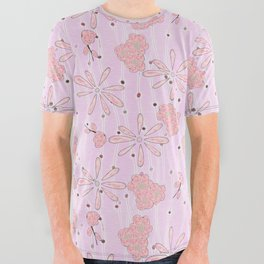 Blossoming Tree All Over Graphic Tee