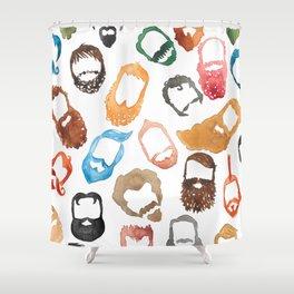 Beards on Beards Shower Curtain