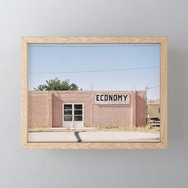 Economy - West Texas Framed Mini Art Print