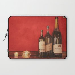 Wine on the Wall Laptop Sleeve