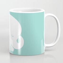 Mod Baby Elephant Teal Coffee Mug