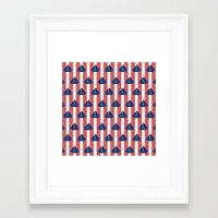 sailboat Framed Art Prints featuring SAILBOAT by ovisum