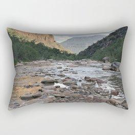 River of Rocks Rectangular Pillow