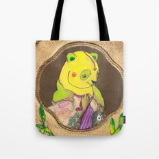 Banana Creme Pie Panda Tote Bag