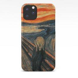 The Scream by Edvard Munch iPhone Case