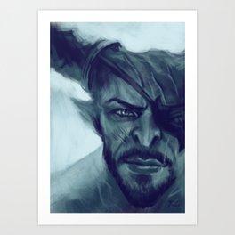 The Iron Bull Art Print