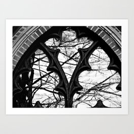 Give Me Black & White! Art Print