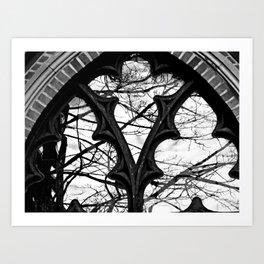 Give Me Black & White! Art Print