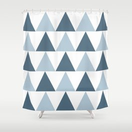 Triangle Pattern #4 Shower Curtain