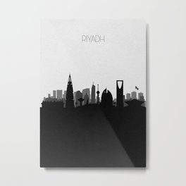 City Skylines: Riyadh Metal Print