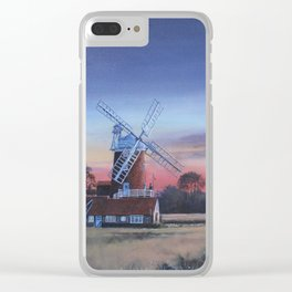 Cley Windmill Clear iPhone Case