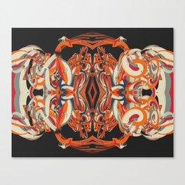 Cuentos de amor de locura y de muerte / 001 Canvas Print