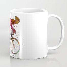 cyclist road bicycle Coffee Mug