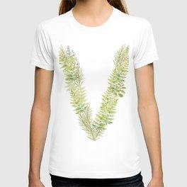 Initial V T-shirt