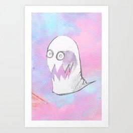 little Obake Art Print