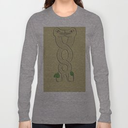 Dragon ornamentation Long Sleeve T-shirt