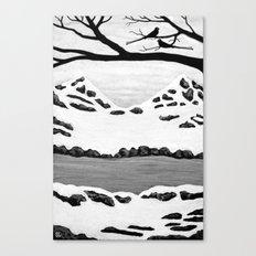 Scissortail Winter Canvas Print