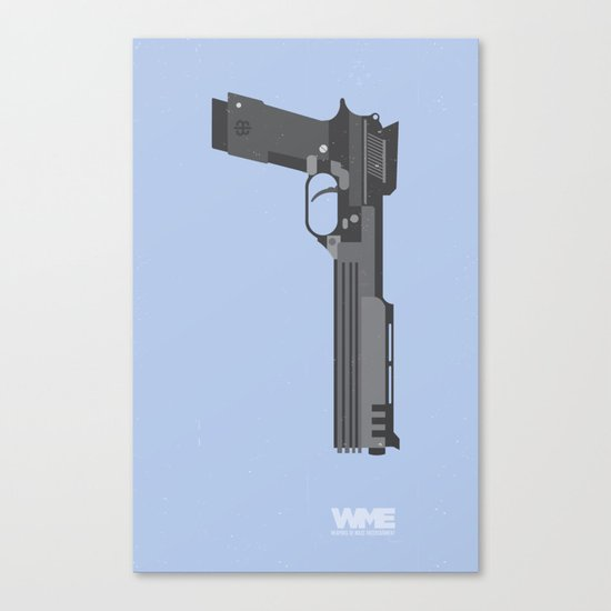 ROBOCOP's Gun Canvas Print