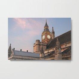 Big Ben over London Metal Print