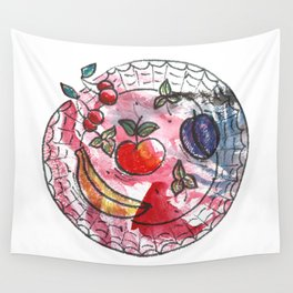Fruit on a platter Wall Tapestry