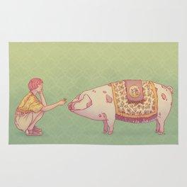 Signe du cochon Rug